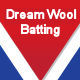 DREAM WOOL BATTING