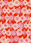 5014-2.Melody.ornamment.red