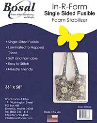 SINGLE SIDED FUSIBLE-White