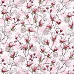 3252-002BUDDING BLOSSOMS-PEARL PINK