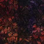3281-001 Fireworks-Orange Purple