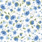 3296-002 Forget-Me-Not-tea cup