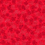 3375-002 Playful Posies-radiant ruby