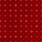 3376-002 Sweethearts-radiant crimson