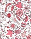 3377-003 Doodle Play-coral