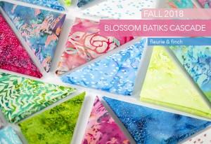 Blossom Batiks - Cascade