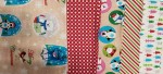 Snow Globes Fat Quarters 5 pieces