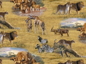 African Animals by Al Agnew