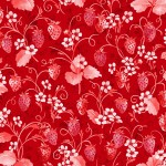 3371-003 Strawberry Pie-radiant scarlet
