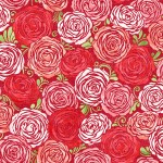 3372-001 Candied Roses-radiant berry
