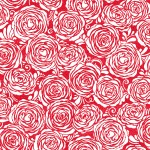 3372-003 Candied Roses-radiant cherry