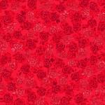 3375-002 Playful Posies-radiant ruby