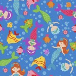 MT-MF2120-7 Mermaids Blue