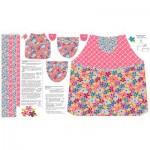 MT-VA2081-14 Child _ Doll Apron Pink
