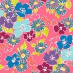 MT-VA2083-14 Med Floral Pink