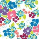 MT-VA2083-2 Med Floral White