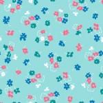 MT-VA2084-12 Little Floral Aqua