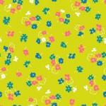 MT-VA2084-28 Little Floral Chartreuse